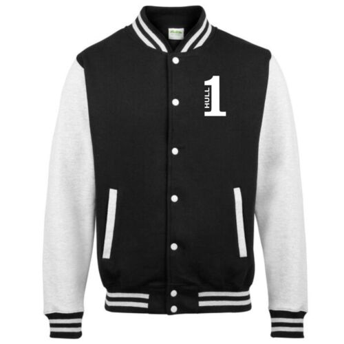 Number 1 Hull Fan Varsity Jacket Kids