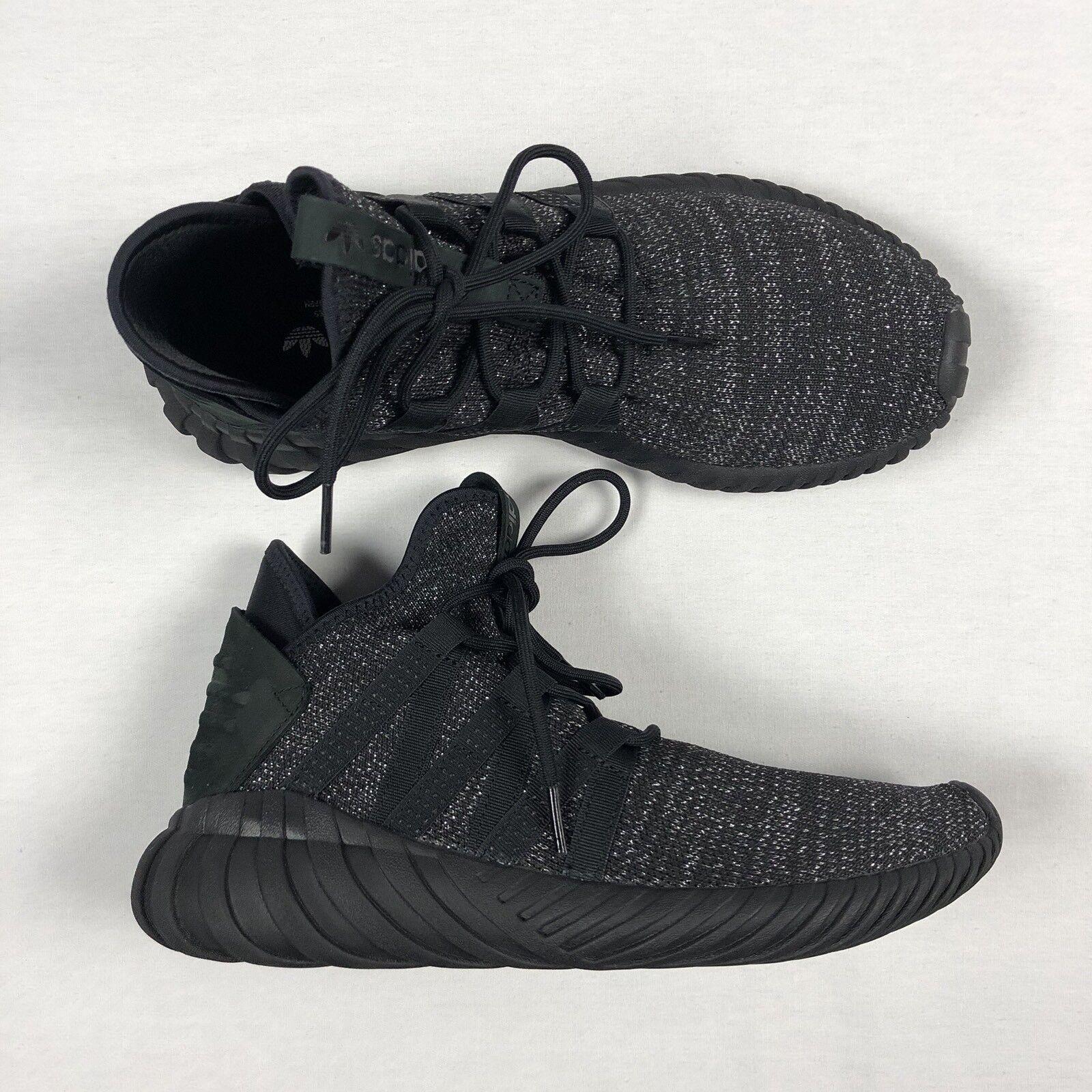 Adidas Womens Tubular Dawn Size 8 Running Metallic Black BZ0629 (e7)