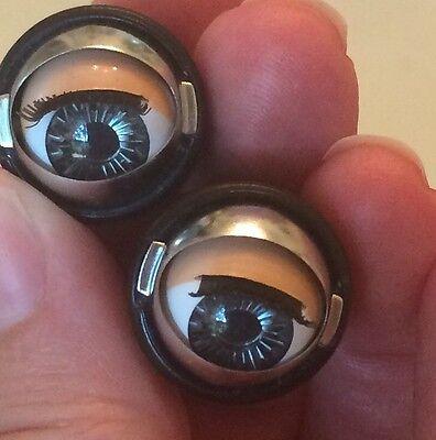 Doll Sleep Moving Eyes 10mm Brown Vinyl Doll Eyes Replace Repair Fix Doll Making