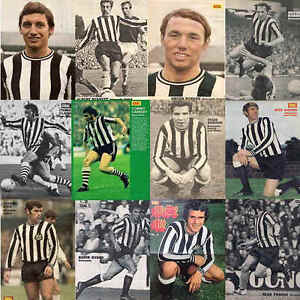 Goal-Football-Magazine-Soccer-Player-Picture-Newcastle-United-Various-Players