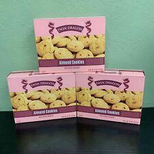Twin Dragon Almond Cookies Very Good.