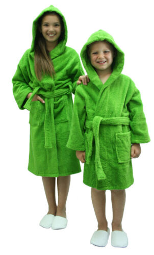 Cotton Terry Bath robe for Boys and Girls monogram available Kids Robe Bathrobe