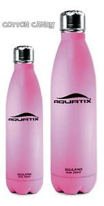 24 Hr Cold 12 Hr Hot Pink 17 Oz Insulated Double Wall Vacuum Seal Water Bottle Ebay
