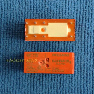 1pcs ORIGINAL & Brand New RTE24012 RT424012 8pins 12V 8A SCHRACK Relay