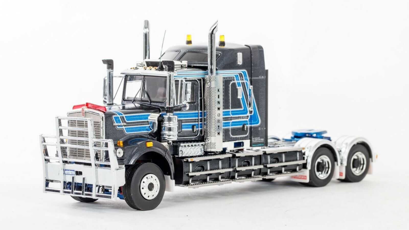 Kenworth C509 Prime Mover Truck (BMP Haulage) by Drake 1 50 Model  Z01452 New