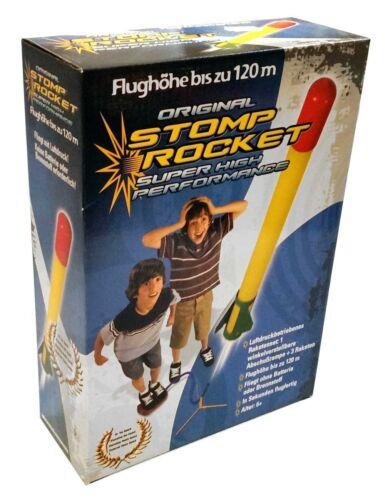 Stomp Rocket Super High Performance Druckluftrakete Komplettset mit drei Raketen