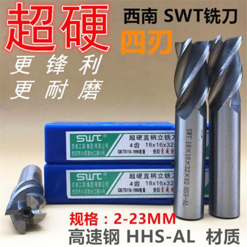 1Pcs SWT 2 Flute HSS  End mill D14*12*26*83  Drill Bit