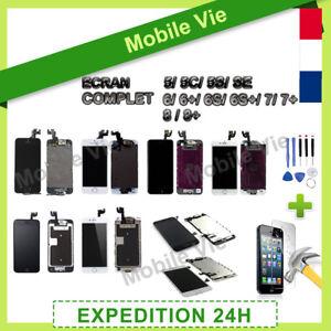 ECRAN-COMPLET-IPHONE-5-5C-5S-SE-6-6S-7-8-VITRE-TACTILE-LCD-RETINA-SUR-CHASSIS