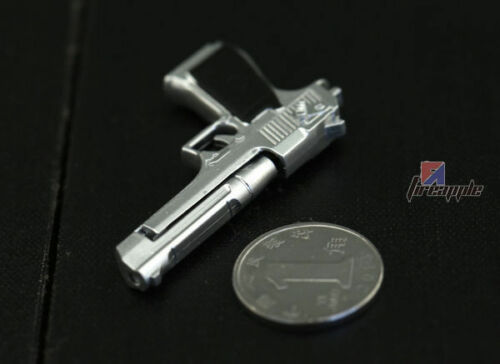"""NEW 1//6 Scale Weapons Silver Desert Eagle Gun Mode For 12"""" Action Figure Toys"""