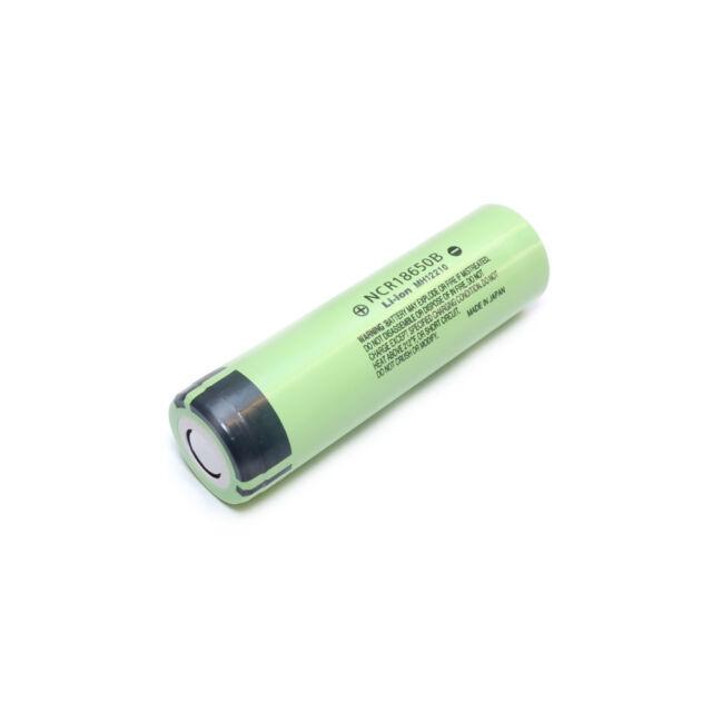 Panasonic NCR18650B  3,6V 3400mAh Lithium-Ionen Akku ungeschützt Akkuparts24