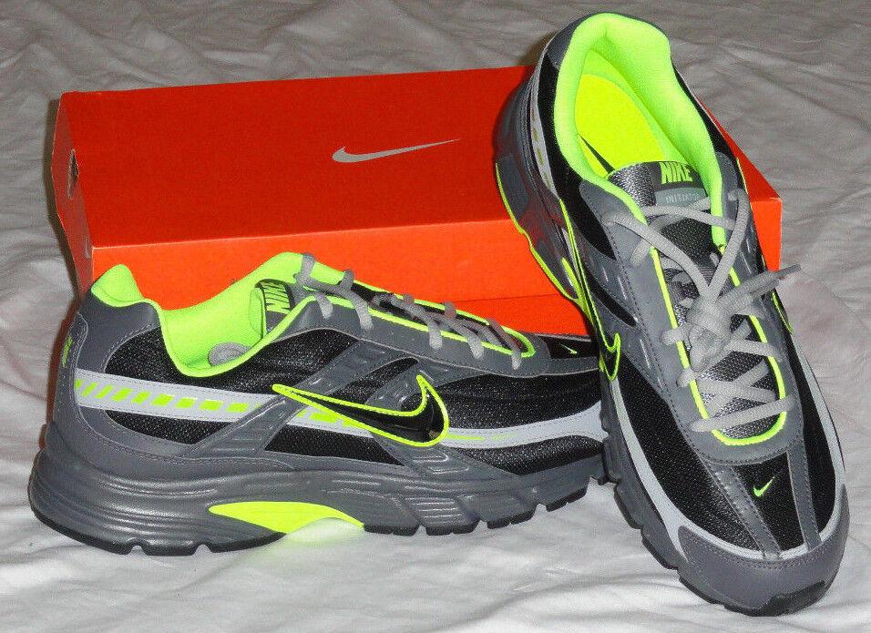 NEW  NIKE Initiator Mens Running shoes Sneaker Black   Grey 394005 NIB