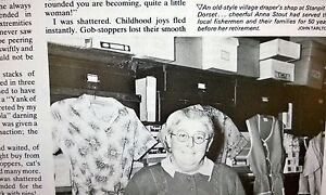 Magazine Article from This England 1979 about the Village Draper STANPIT DORSET