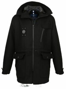 Sailors Mens New 279€ amp; M Brides Rrp Coat Black Size qpnFTnSf