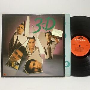 3-D S/T Polydor 6254 VG+/VG+- New Wave LP