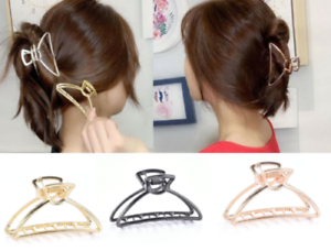 Fashion-Women-Hair-Claws-Hair-Crab-Clamp-Hairgrip-Metal-Alloy-Hair-Clip-Claw-BB