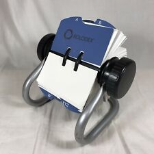 Rolodex Flip Stand Address Phone Contact Business Card File Blank 225 X 4