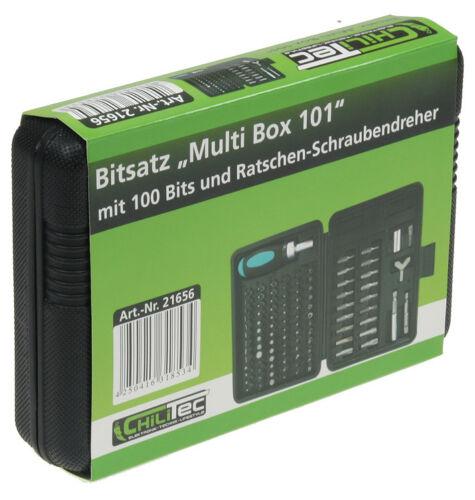 100 teilig Bit SET Maxitorx Imbus Tri-Wing Bits Keilprofi-Bits Klammer-Bits usw.