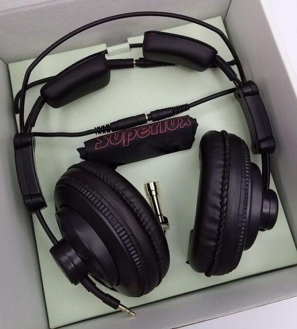 New Superlux Genuine Professional Studio Standard Monitoring Headphones HD668B