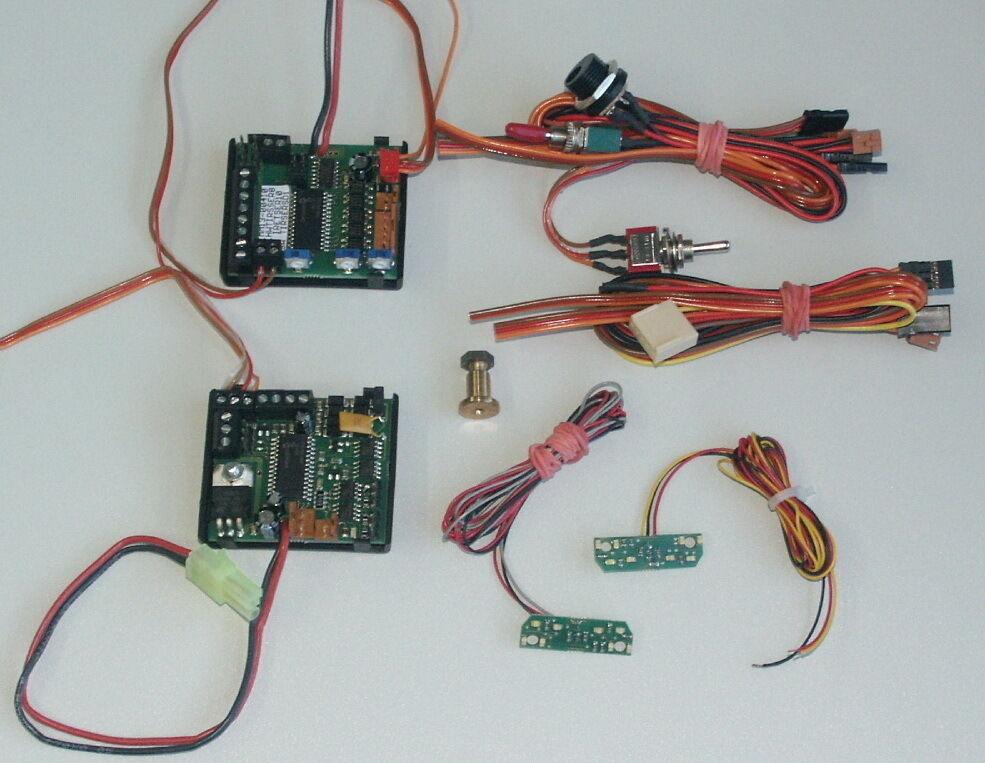Mm-ir-TXE-planta de Tamiya mfc-03 + mfc-01, con LED-placas, infrarrojos