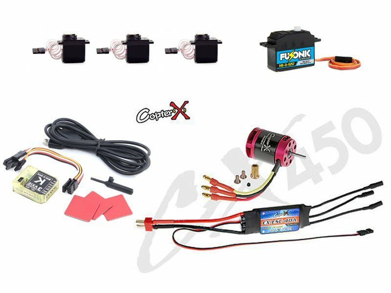 CopterX CX450EPP-FBL-V3 450 Class Flybarless DFC Helicopter Electronic Parts