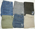MEN'S EX M&S COLLECTION REGULAR FIT JEANS STRAIGHT LEG ADDED STRETCH 7 COLOURS