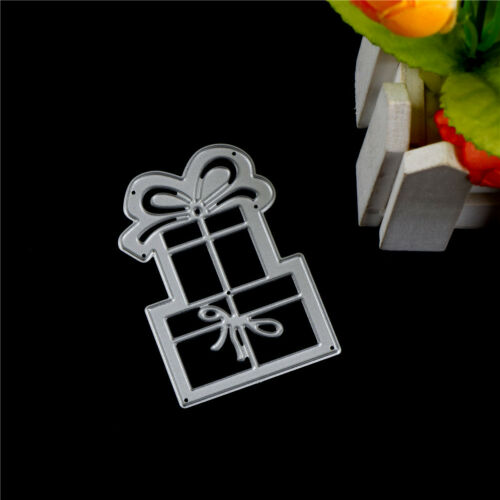 Geschenk BoxMetall schneidenSchablonen Scrapbook Albumpapier Prägung HandwerkFBB