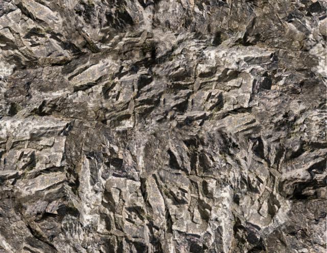 HO Scale Rock Model Train Scenery Sheets –5 Seamless 8.5x11 Coverstock Gray