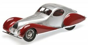 Talbot-Lago-T-150-C-SS-Coupe-rouge-argent-1937