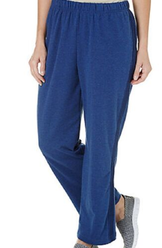 Alfred Dunner Women/'s Hatteras Pull On Terry Pants