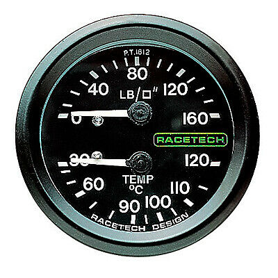 Racetech Mechanical Boost Pressure Gauge Installation Kit