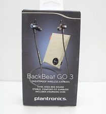 Plantronics BackBeat GO 3 Wireless Earbuds & Charging Case - Cobalt Blue