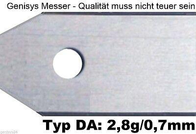 30 Messer 0,7mm/2,8g +schrauben Husqvarna® Automower™ 305 308 310 315 320 330x Grote Rassen