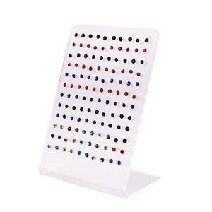 120-Agujeros-Pendiente-Titular-Ear-Stud-Jewelry-Display-Showcase-Rack