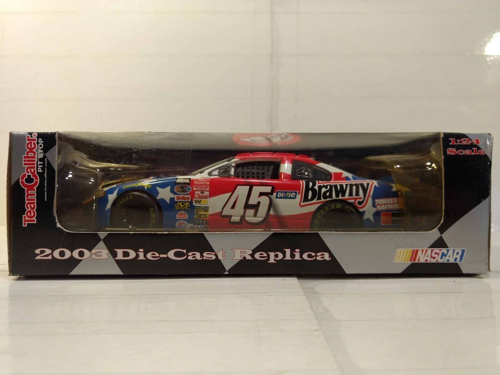 Team Caliber Fosse Stop Kyle Petty Brawny Dodge 1 24 Echelle 2003