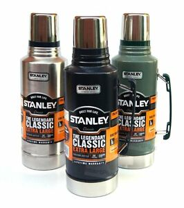 Stanley Classic 1.9L Stainless Steel Thermos Flask Vacuum Insulated ...