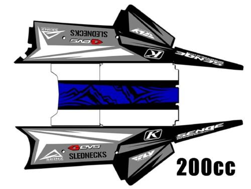 2018 YAMAHA SRX 120 AND SNO SCOOT 200 GRAPHICS KIT DECALS STICKERS DECO TUNNEL