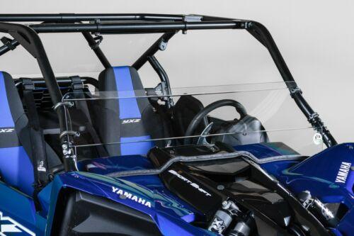 "Model 2019 Yamaha YXZ Half UTV Windshield 3//16/"""