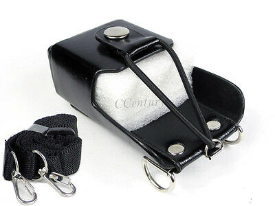 Radio Hard leather Case Holster For Baofeng Wouxun Puxing TYT Kenwood FDC A128