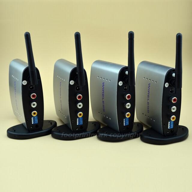2.4GHz Audio Video AV Wireless 1 Sender 3 Receiver IR