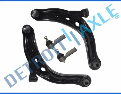 05-09 Escape Mariner Tribute 4pc Lower Control Arm Ball Joint Outer Tie Rod Kit