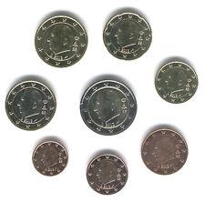 Belgium 2011 - Set of 8 Euro Coins (UNC)