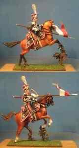 Napoleonic-Wars-Polish-Imperial-Guard-lancers-60mm-High-quality-Lead-Figure