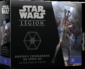version français FFSWL72 DROÏDES COMMANDOS DE SÉRIE BX STAR WARS LÉGION