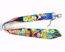 RANDOM SHIP 1PC DBZ DragonBall Z Super Saiyan Son Goku Phone ID Strap Lanyard