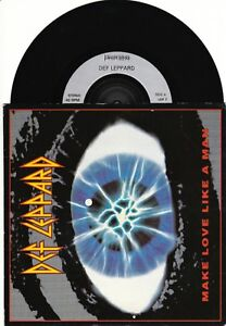Details about Def Leppard - Make Love Like A Man, MISS YOU IN A HEARTBEAT  (LEP 7)