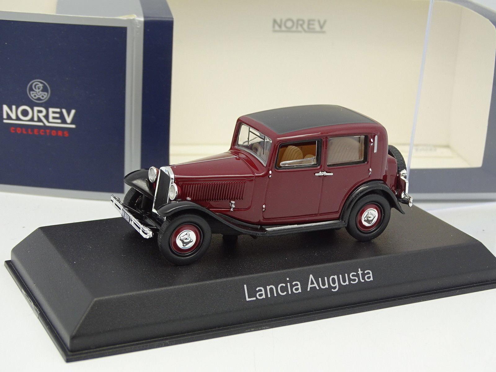 Norev 1 43 - Lancia Augusta red