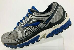 Brooks-Beast-12-Running-Shoes-Blue-Gray-Motion-Control-Training-Mens-US-9-5-D