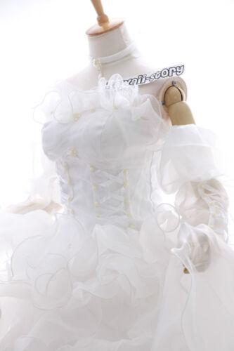 a-010 S//M//L//XL//XXL EUPHEMIA Victorian Gothic Cosplay Kostüm dress Braut-Kleid
