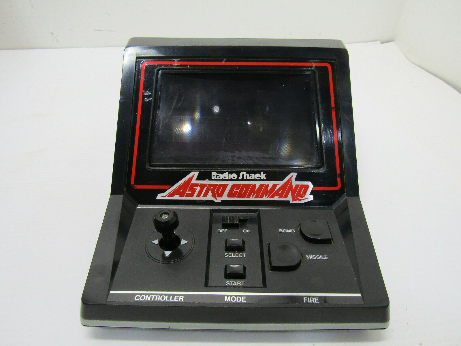 VINTAGE HAND HELD ELECTRONIC ASTRO COMMAND GAME ARCADE GAME WORKS