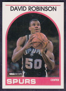 Details About 1989 Nba Hoops David Robinson Rookie Card 310 Gem Mint